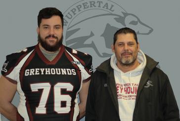 Greyhounds…Verstärkung für die Defense-Line !