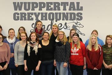 Greyhounds…Ladies starten in der 2.Bundesliga