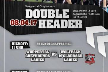 Greyhounds…Doubleheader am 08.04. in Gefahr