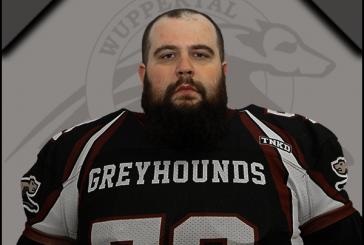 Greyhounds..gewichtige Verstärkung für die Defense Line