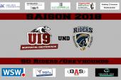Greyhounds U19 – erstes Spiel als Spielgemeinschaft mit den Riders