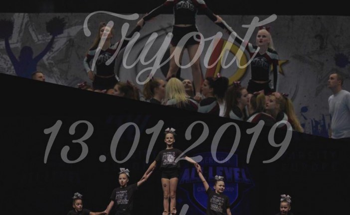 Cheerleading Tryout 2019