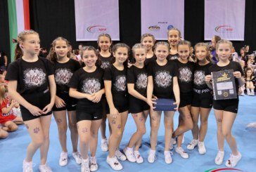 Landesmeisterschaft unserer Peewee Cheer Level 0