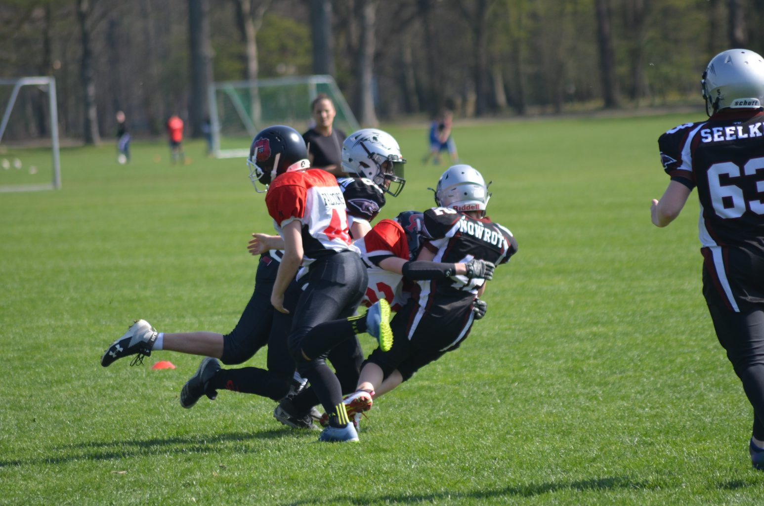 American Football bis 13 Jahre