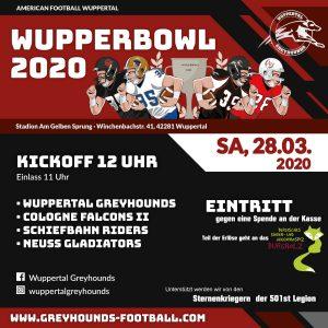 American Football Turnier in Wuppertal