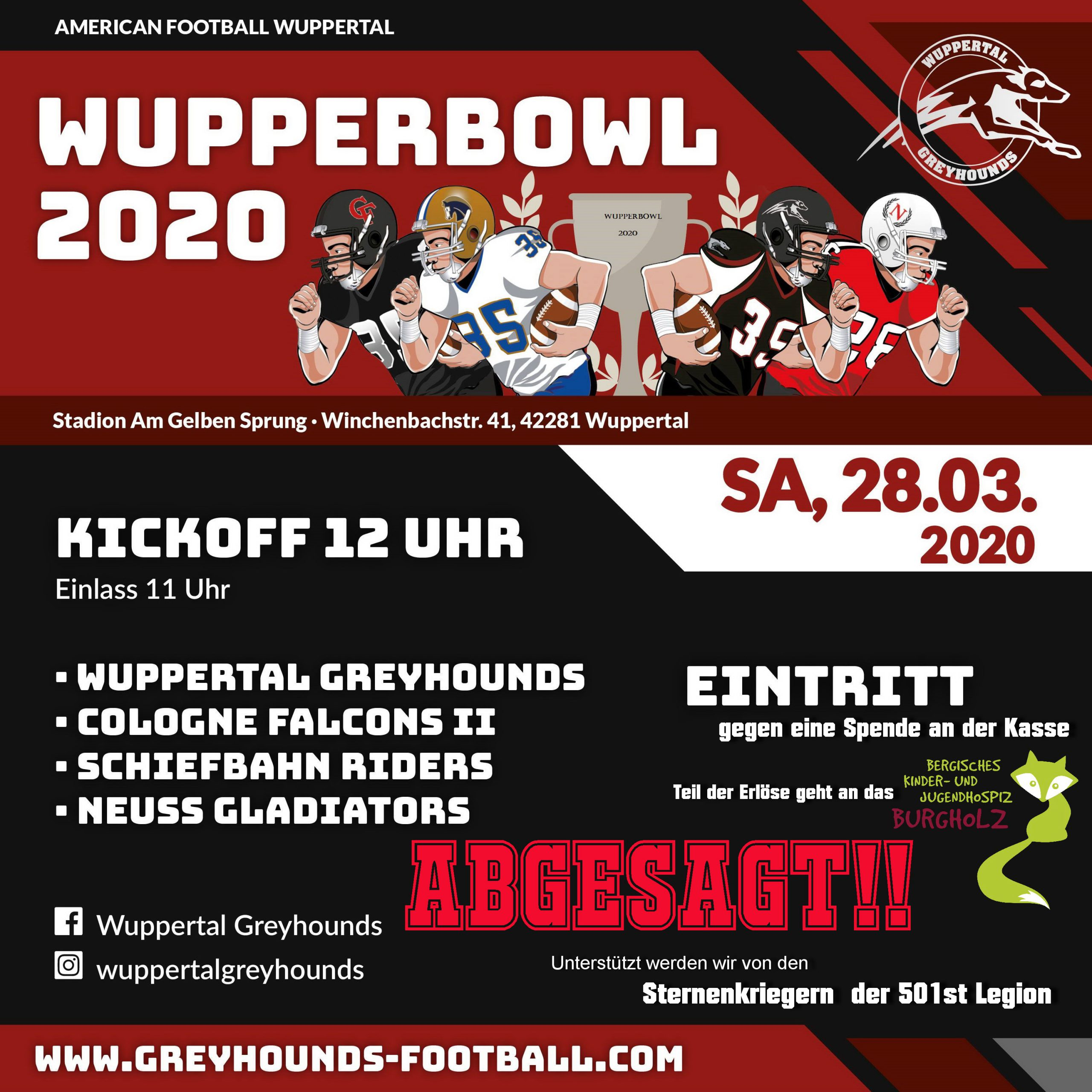 Wupperbowl 2020
