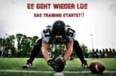 Wir dürfen wieder trainieren…..