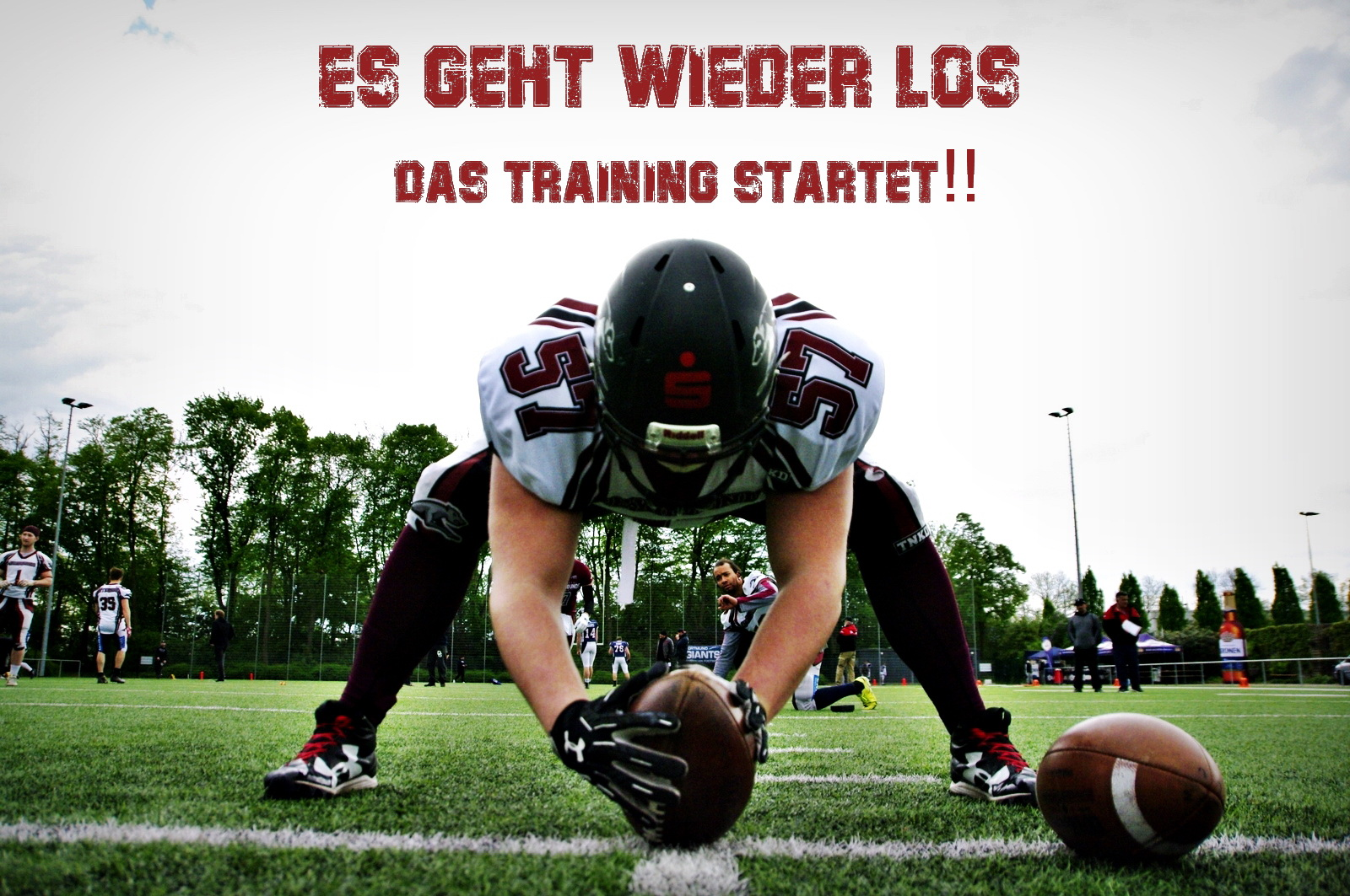 Training Wuppertal Greyhounds