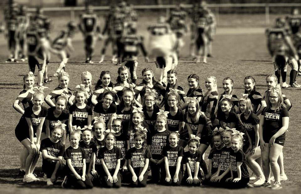 Greyhounds Cheerleader