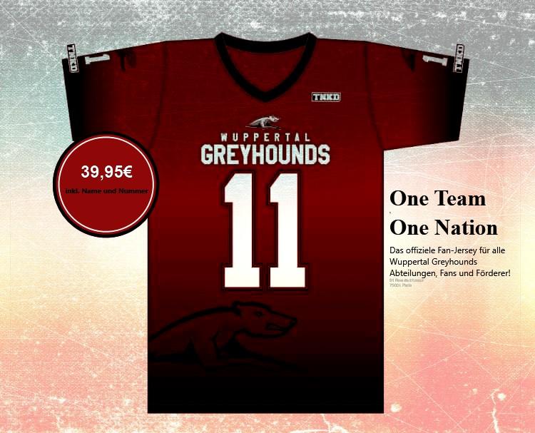 Greyhounds Fan Trikot